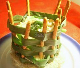 Cosulet de ceapa cu salata Boeuf