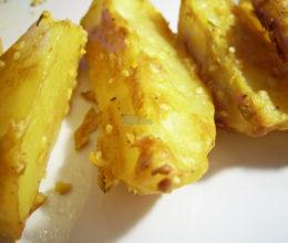 Cartofi glazurati cu mustar
