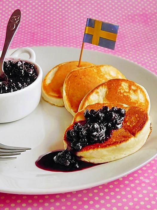 Swedish Pancakes - Clatite pufoase