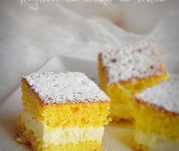 Prajitura simpla cu crema de vanilie