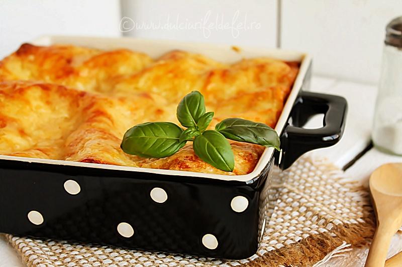 Lasagna cu branza
