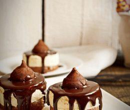 Prajituri cu mousse de ciocolata alba