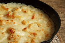 Gnocchi din cartofi cu sos de branza