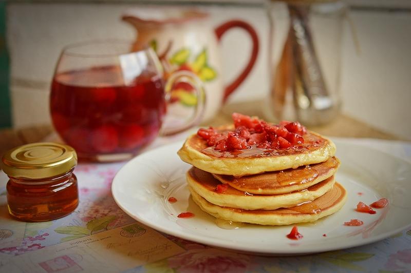 pancakes cu lamaie