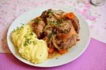 Rasol de vita cu legume la slow cooker Crock-Pot