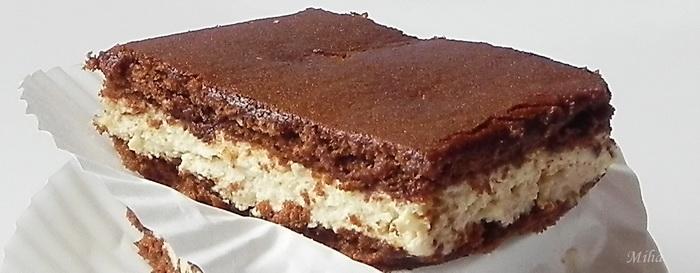 Prajitura cu blat de cacao si crema mascarpone