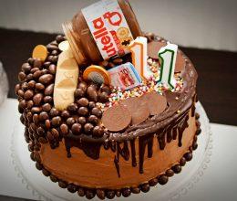 Tort Nutella – tort cu ciocolata