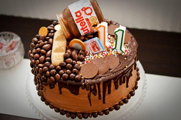 Tort Nutella