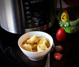 Supa de curcan cu galuste la Multicooker Crock-Pot Express cu gatire sub presiune