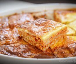 Burek cu carne – reteta placinta cu carne